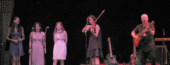 Bruce Cockburn, Jenny Scheinman and the Wailin Jennys 26June2011 Kate Wolf Memorial Music Festival