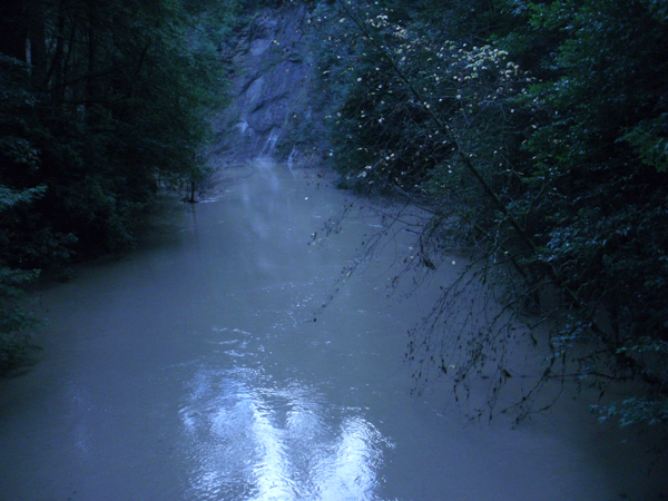 Redwood Creek at Whittemore Grove near Redway 2 December 2012