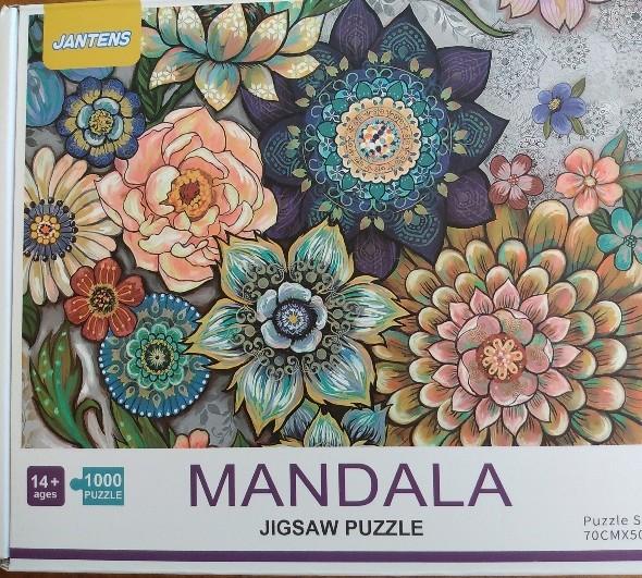 Mandala flowers Jantens 1000~2