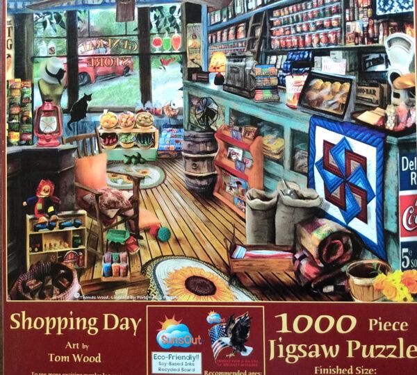 Shopping Day Sunsout 1000