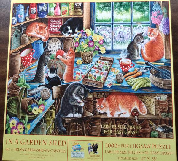 In A Garden Shed kitties