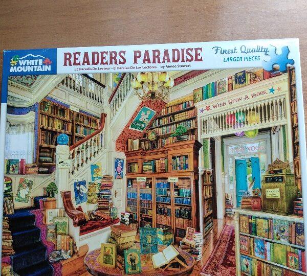 Readers Paradise White Mountain 1000 lrg pcs
